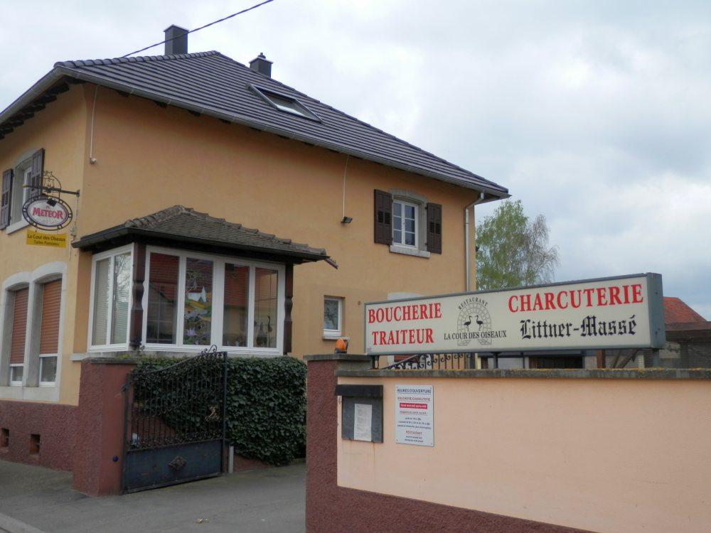 Restaurant la cour des Oiseaux (Gougenheim)