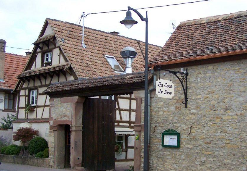 Restaurant la cour de Lise (Willgottheim)