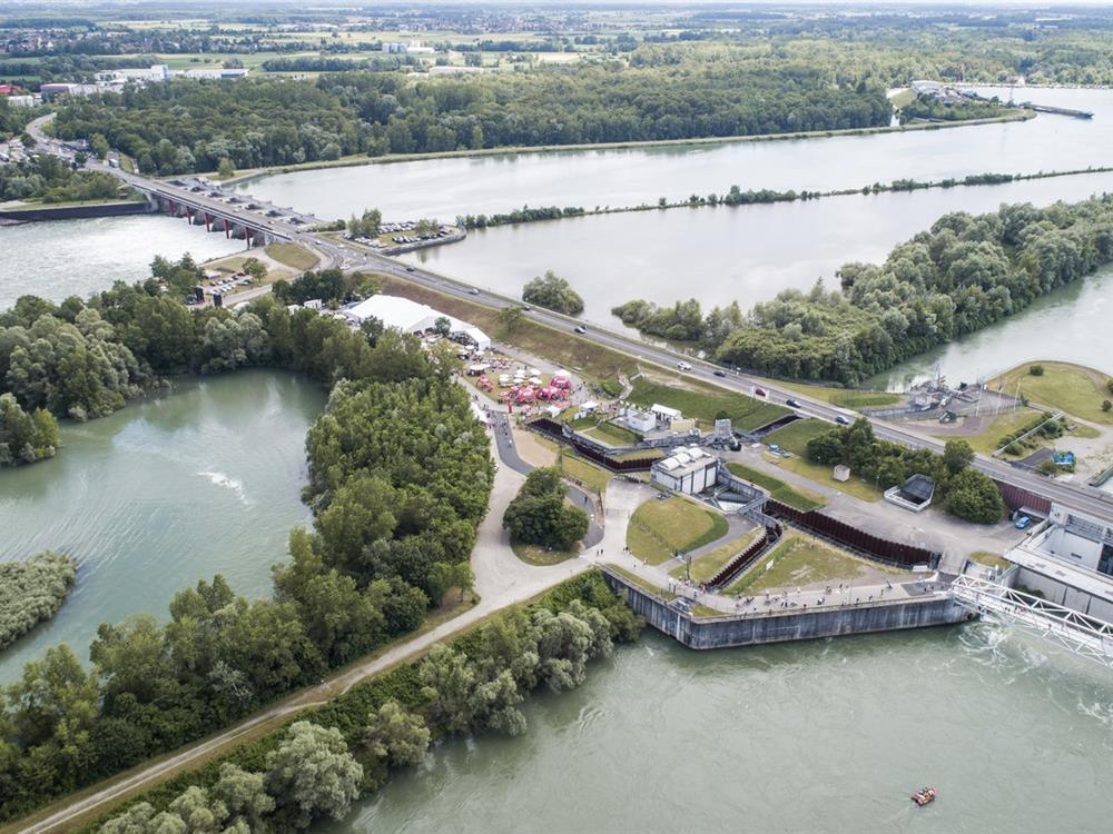 Passage309 - site rhénan Gambsheim/Rheinau et environs