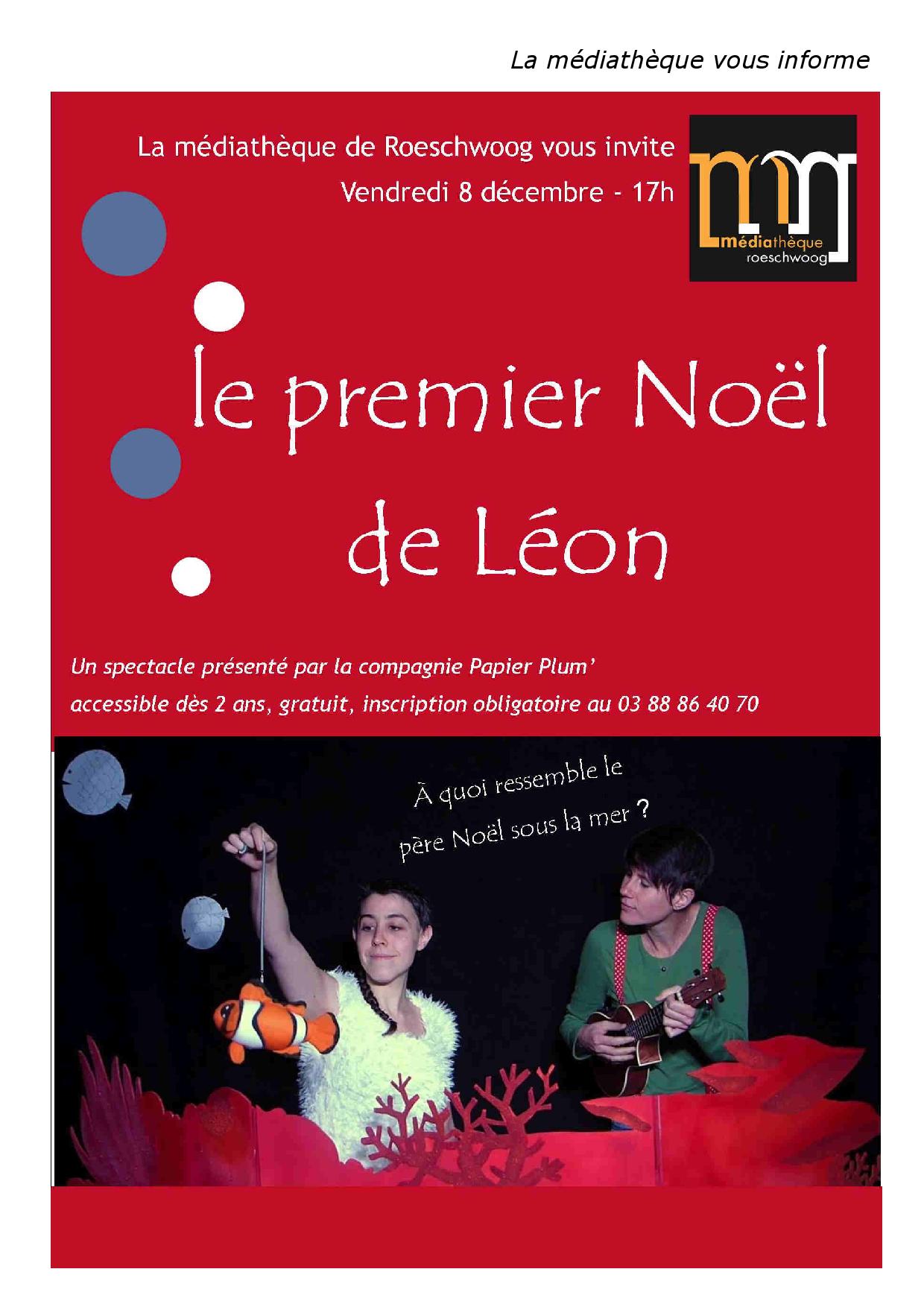 Le premier Noël de Léon