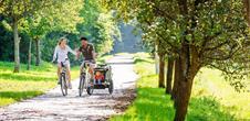 Relax und Familien Radtour im Elsass