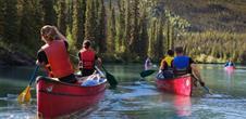 Week-end avec excursion en canoë