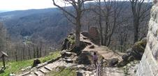 Fortified Castle Trail Middle Vosges Mountains