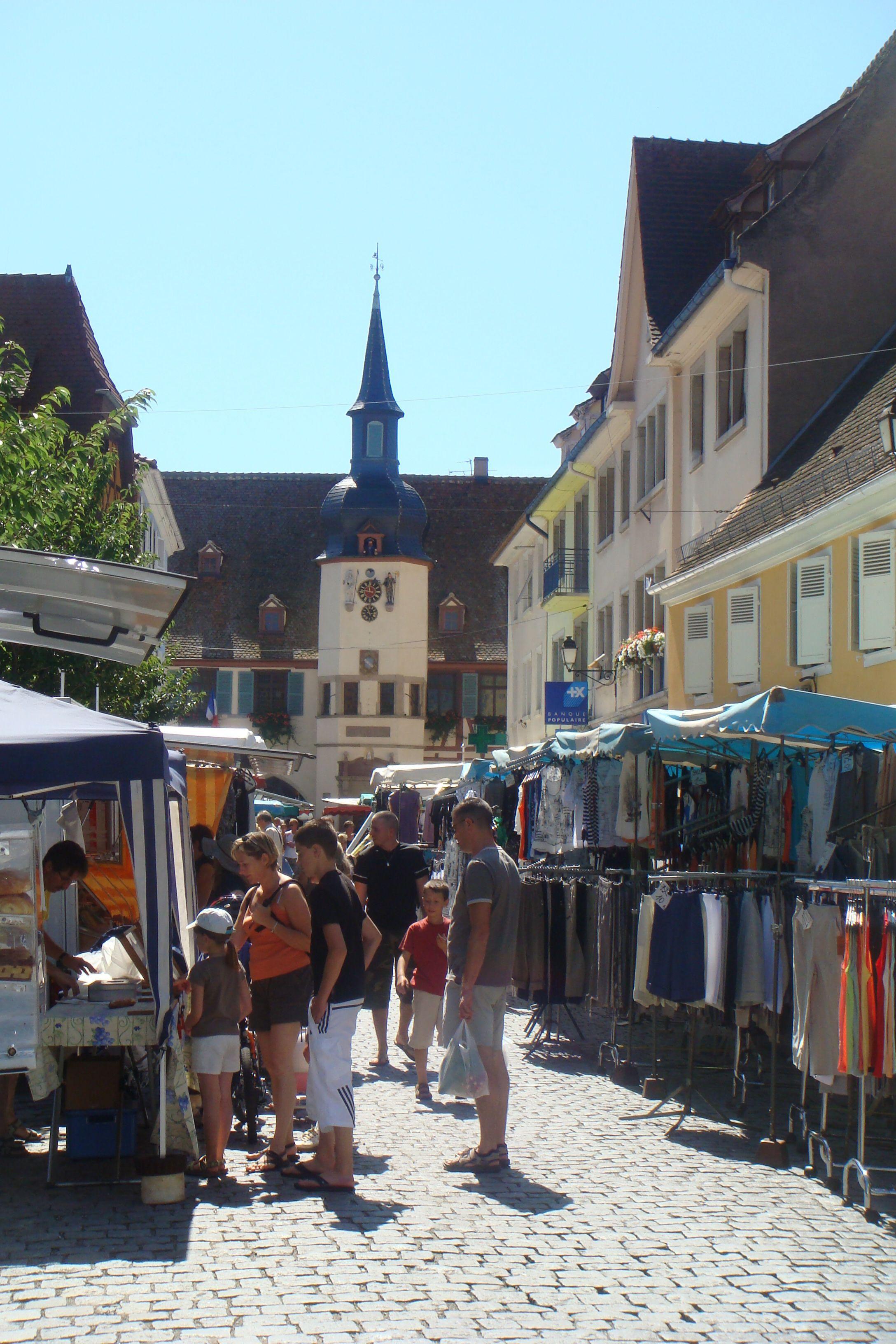 Lundi de Pâques à Benfeld : grand marché