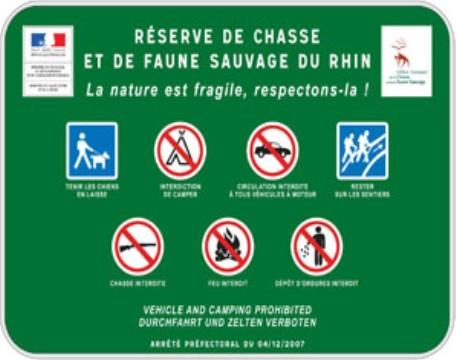 La r serve de chasse et de faune sauvage du rhin gerstheim - Office national de la chasse et de la faune sauvage ...