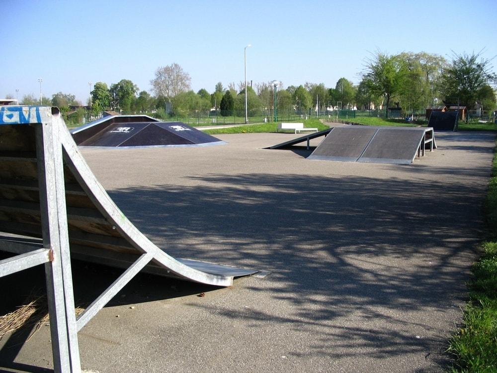 Skate parc erstein for Piscine erstein