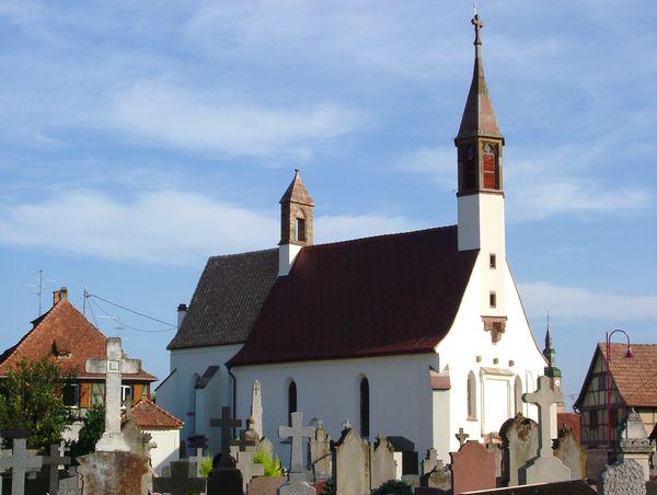 Chapelle Notre Dame du Grasweg, à Huttenheim