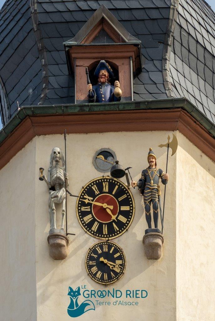 Visite guidée du centre historique et de l'Horloge à Jacquemart
