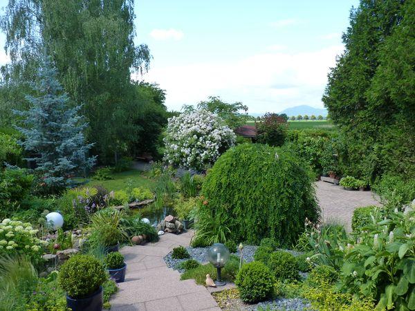 Rendez vous aux jardins jardin de paulette et dany - Faire peur aux oiseaux jardin ...