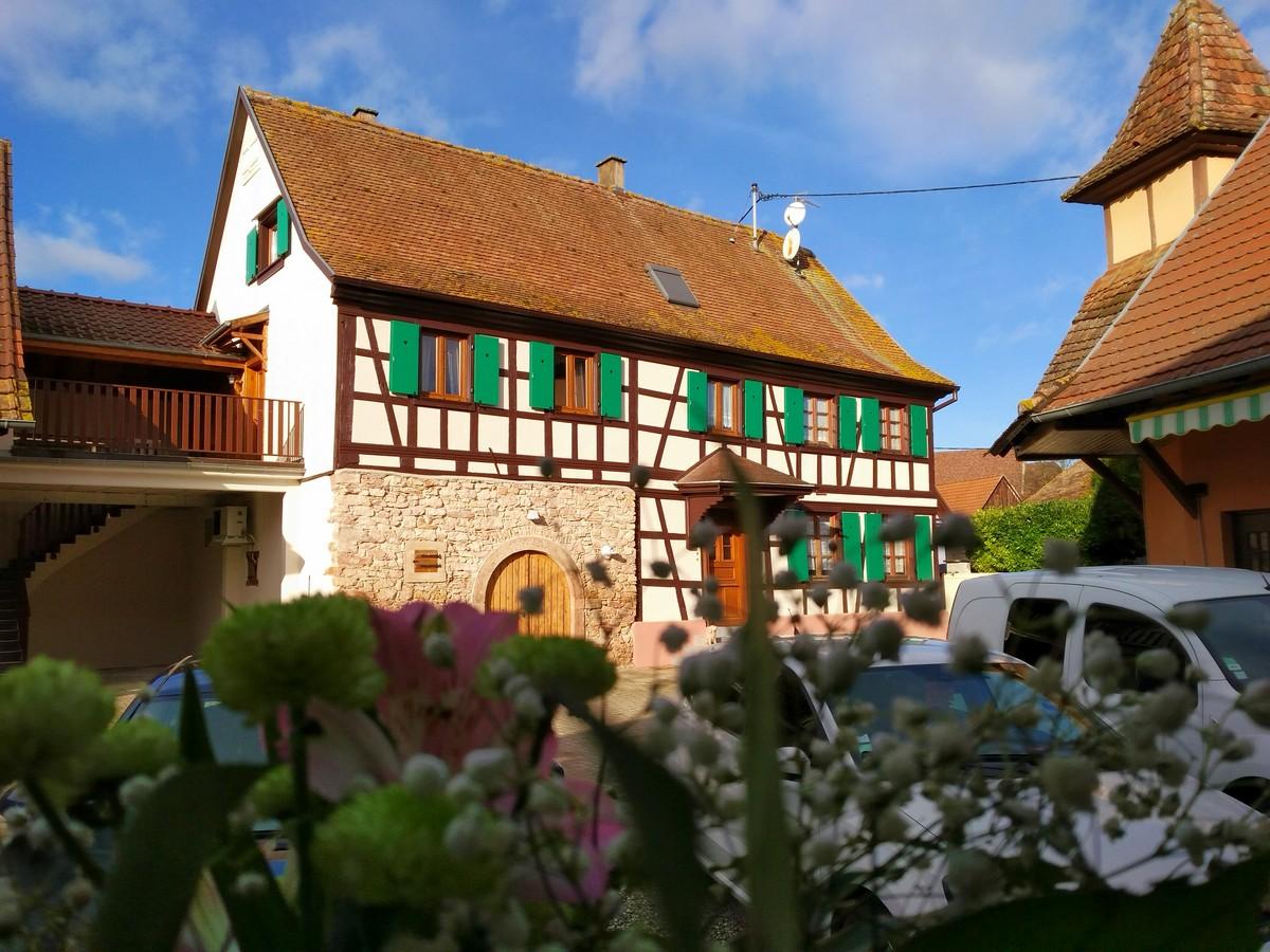 Meublé de tourisme de Chantal EHRHARD - Le nid des hirondelles