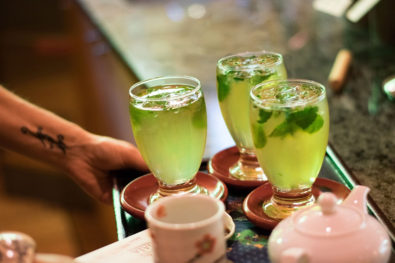 Wo essen - Bars und Kaffees - Jardins de Gaia - Teehaus und ...