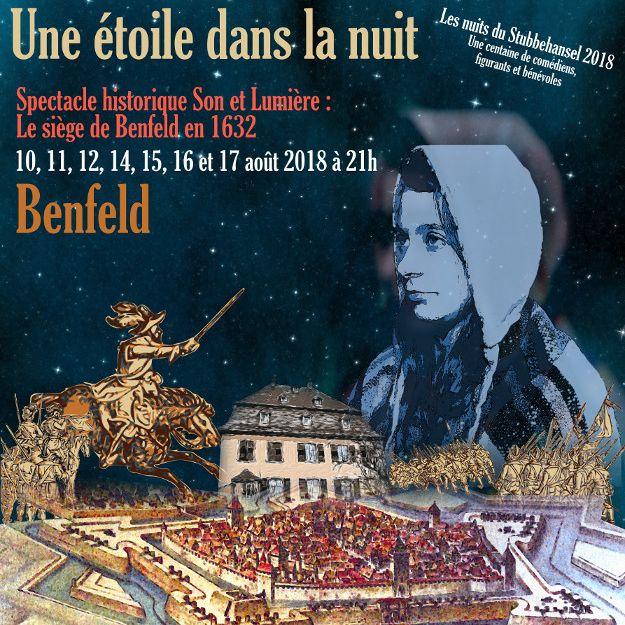 """Fête du Stubbehansel : spectacle Son et Lumière """"Une étoile dans la nuit"""""""