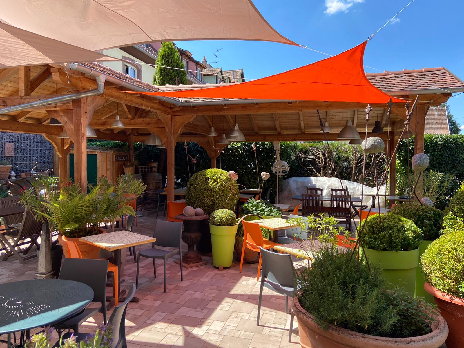 Restaurant de la cuisine au jardin for Resto au jardin