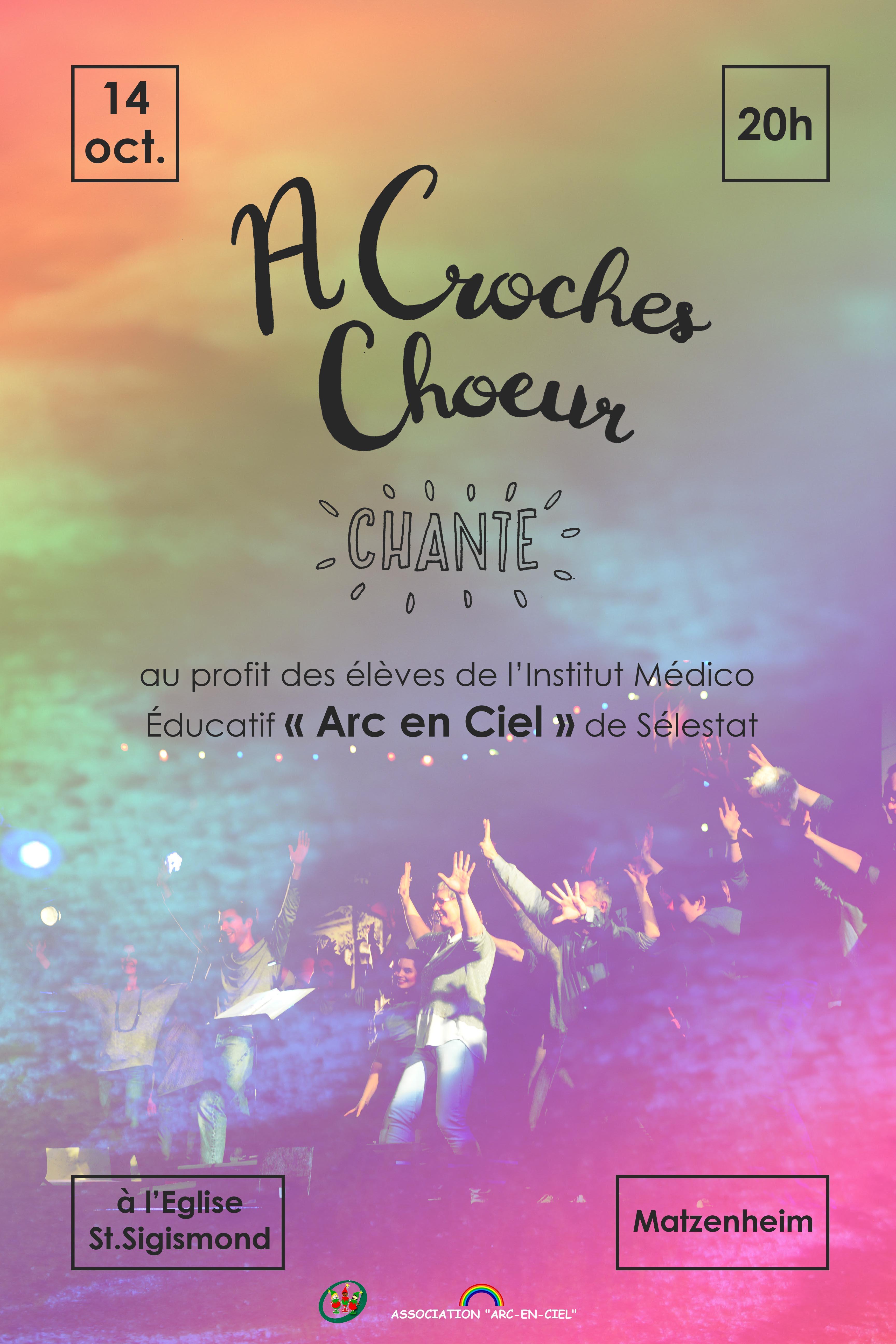 """Concert d'Automne avec """"A Croches Choeur"""""""