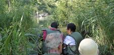 Jungle rhénane en barque et encas gastronomique