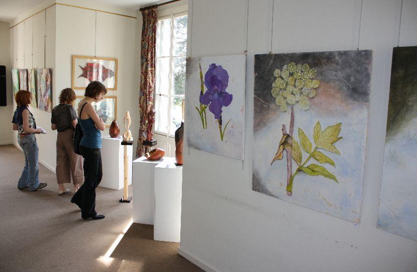 Exposition d'Art à la Villa Jaeger