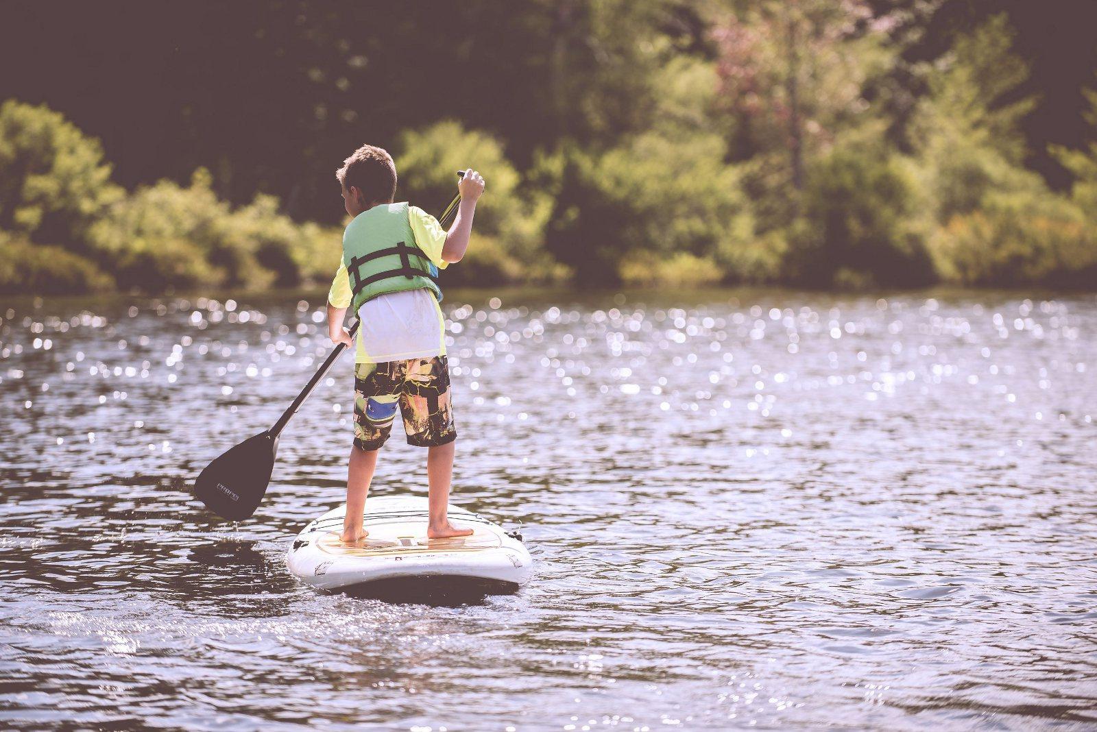 Stand up Paddle au plan d'eau