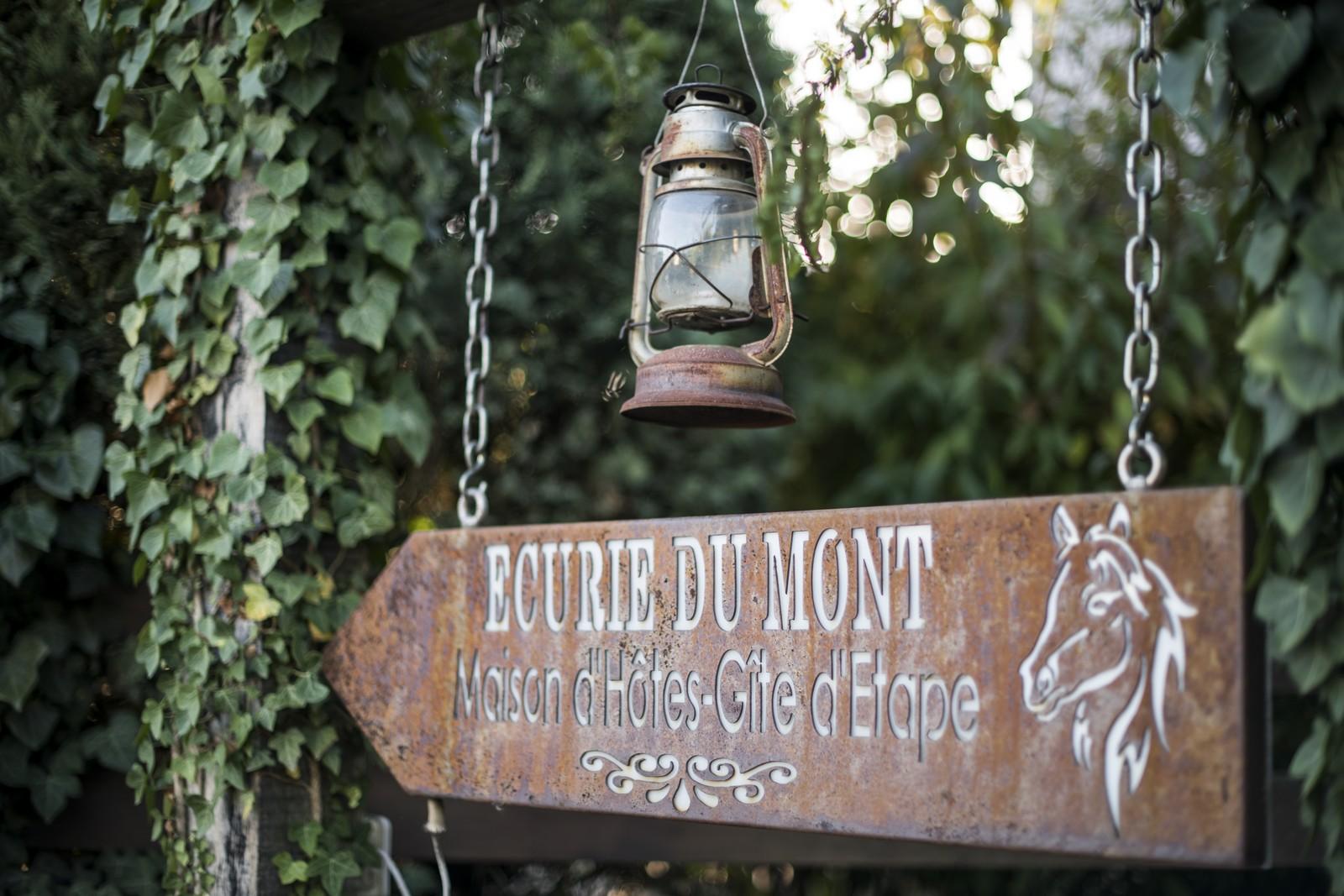 La Maison d\'hôtes du Mont - Chambre les prés