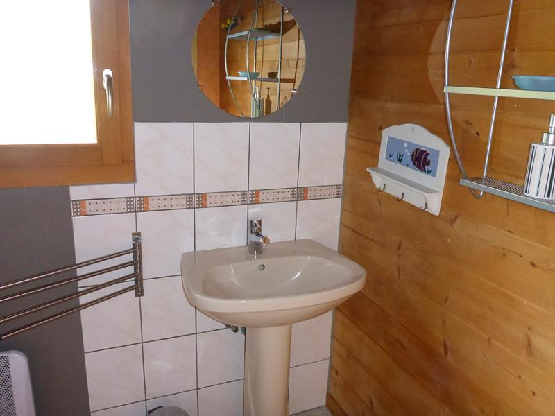 Gîte Pomme Chalet - RDC - Salle de bain1 (+ WC indépendant)