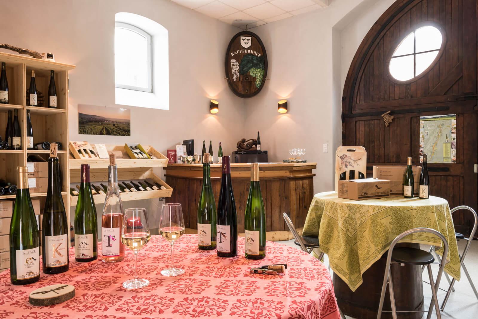 Apéro gourmand chez le vigneron - Freyburger