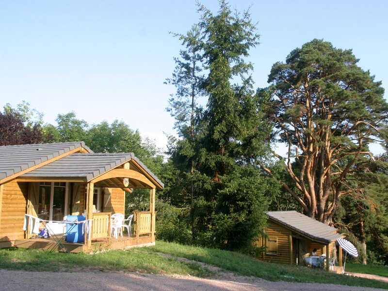 Chalet du camping Lefebure - Charlay 1