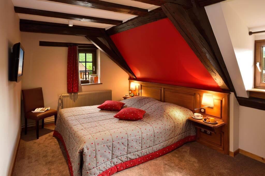 Hôtel l\'abbaye d\'alspach - chambre double luxe - kientzheim ...