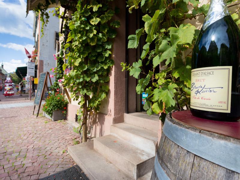 Monsieur kuster claude gite chez claude le vigneron for Piscine kaysersberg