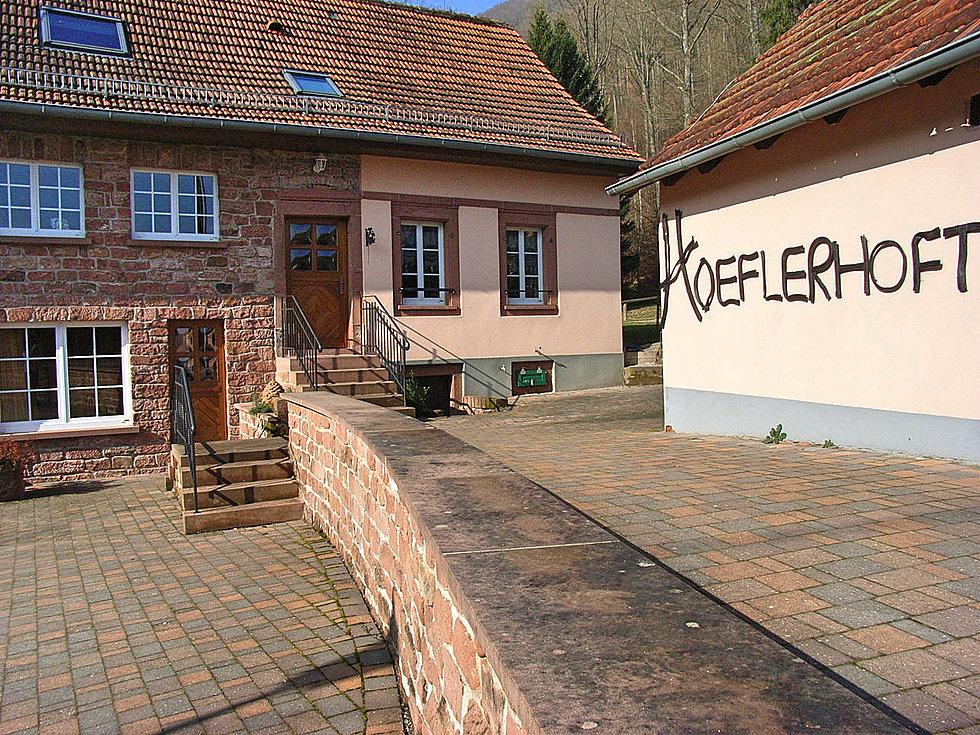 """Guesthouse """"Hoeflerhoft' M Schertz Christophe"""