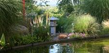 Le jardin Chez Pia & Alain