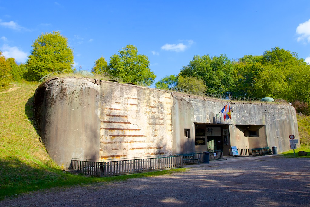 Maginot Line fortress the Four � Chaux