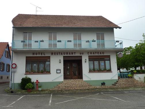 Hôtel-restaurant Au château