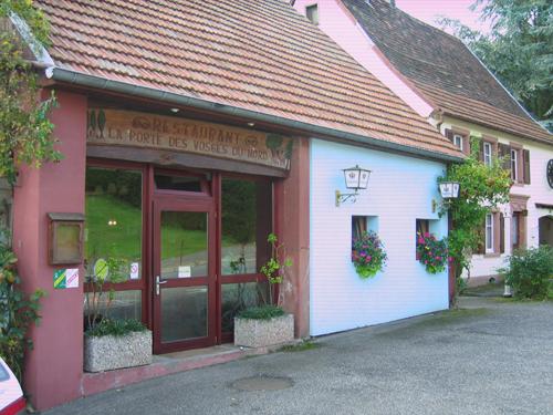 Restaurant La porte des Vosges du Nord