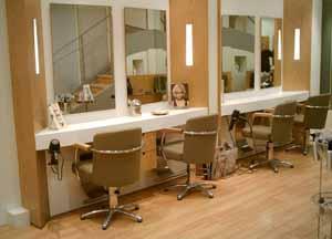 Salon de coiffure le XIXème