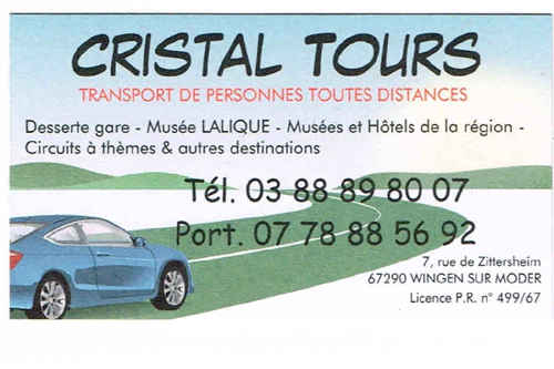 Cristal tours