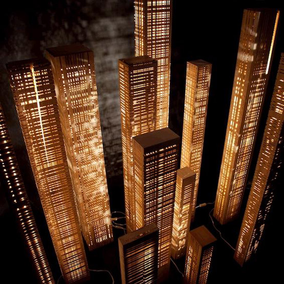 Gilles Ansel bois et lumière