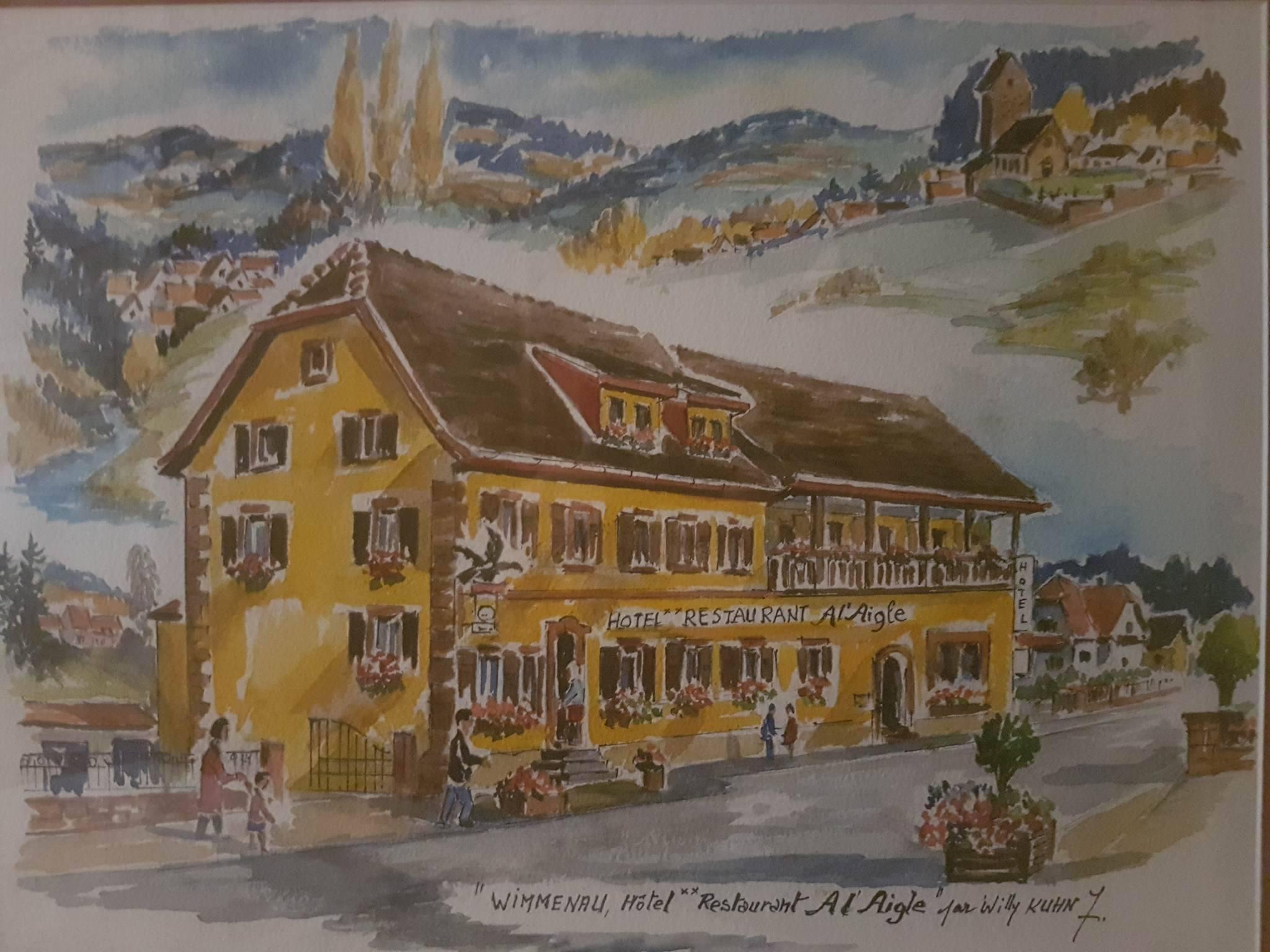 Hôtel - restaurant A l'Aigle