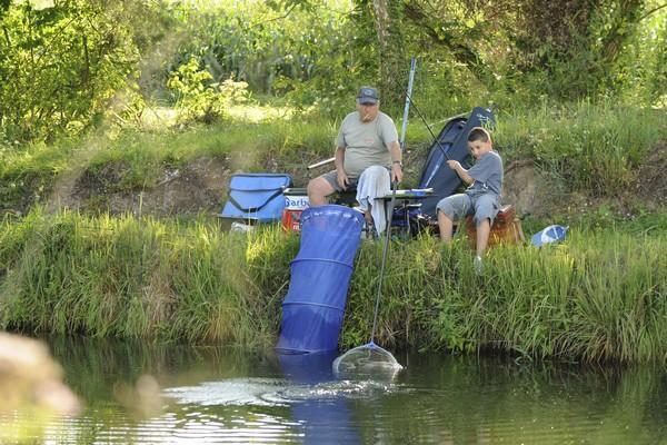 Pêche en équipe