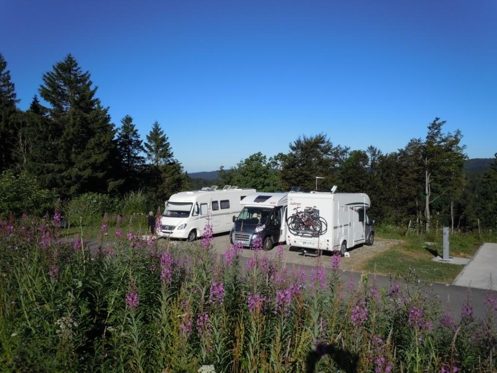 Camping Car A Thann