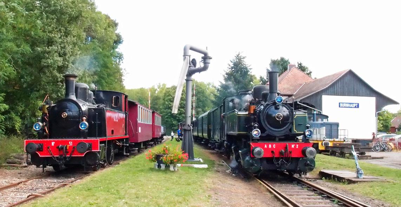 Voyage en train touristique à vapeur