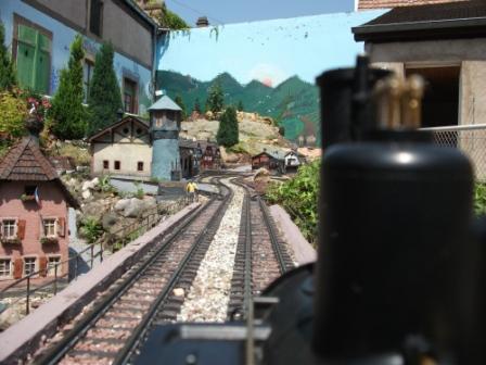 D couverte du train miniature de jardin molsheim en for Simulateur de jardin