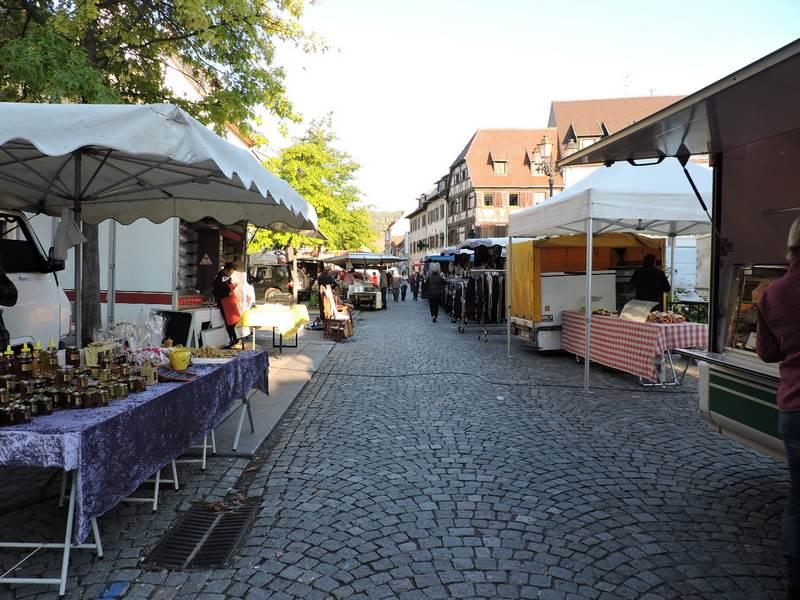 Molsheim marché hebdomadaire