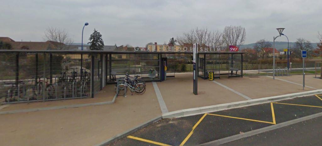 Gare sncf de dorlisheim for Restaurant dorlisheim