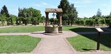 Jardins monastiques de l'abbatiale Saint-Cyriaque