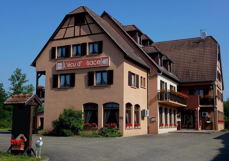 H tel restaurant l 39 cu d 39 alsace gresswiller en alsace for Boutique hotel alsace