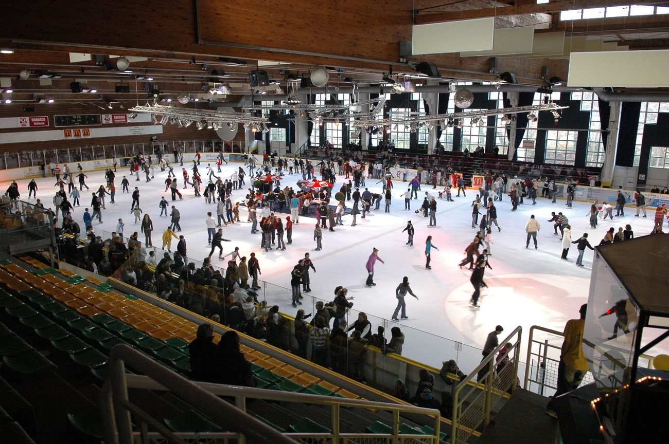 Patinoire olympique de mulhouse mulhouse for Piscine olympique mulhouse