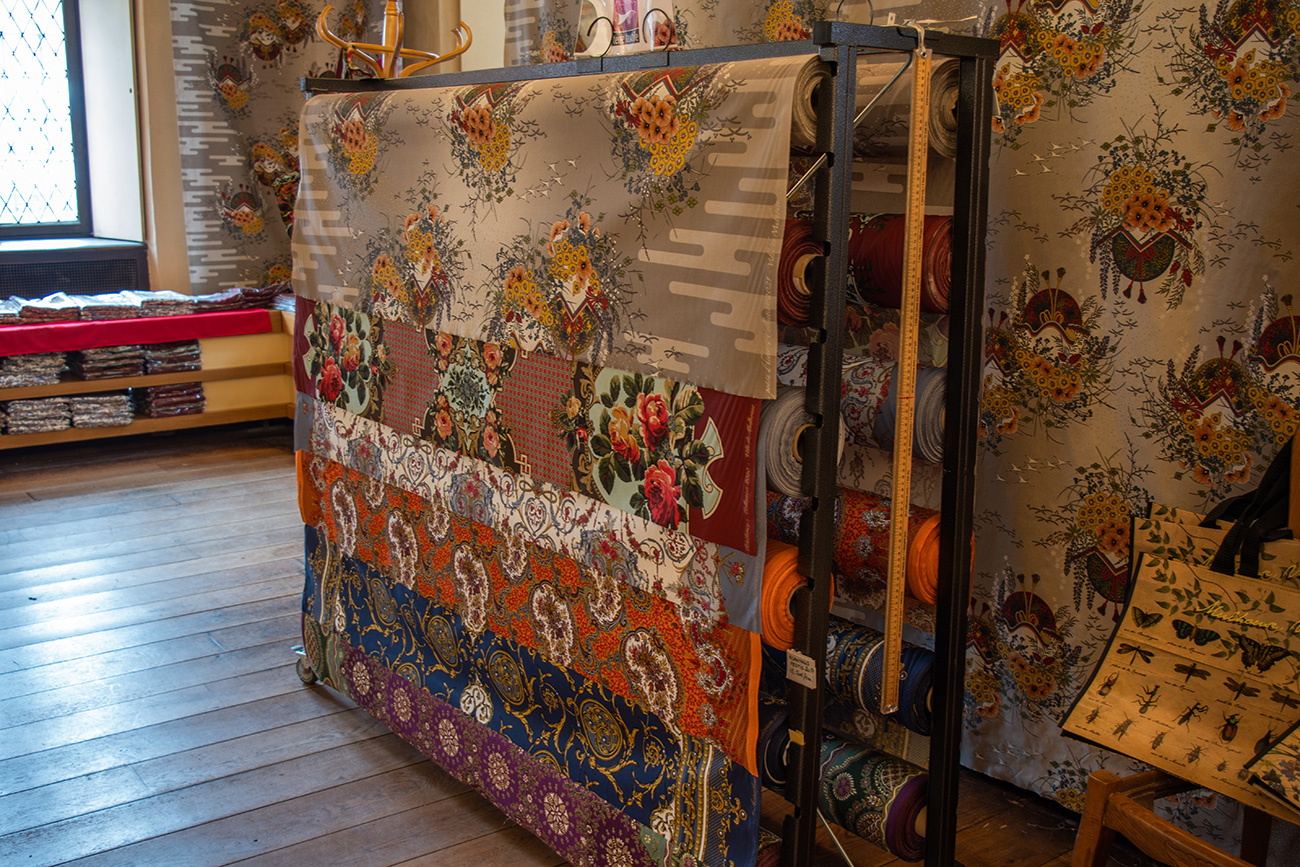Christmas fabrics boutique