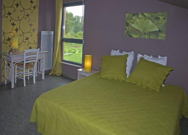 Chambres d\'hôtes Les Jardins du Temps : Chambre Ginkgo Biloba