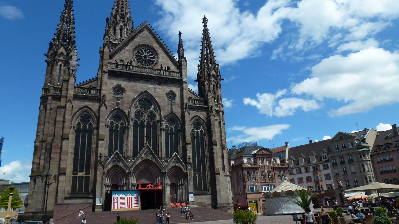 temple saint etienne protestant church mulhouse. Black Bedroom Furniture Sets. Home Design Ideas