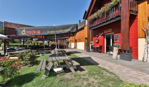 chalets de la Wormsa Restaurant et terrasse- Vallée de Munster - Alsace
