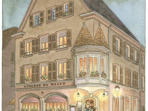 Restaurant Auberge du Wasen - Munster - Vallée de Munster
